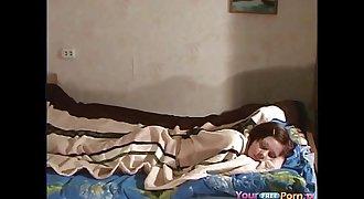 Cute Horny Teen Morning Sextape