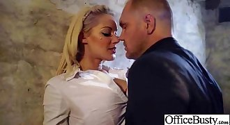 Superb Woker Girl (lou lou) With Big Tits Get Hard Lovemaking In Office clip-20